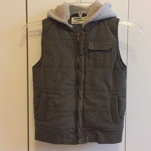 3/$18 Sale! Boys Olive Green Vest
